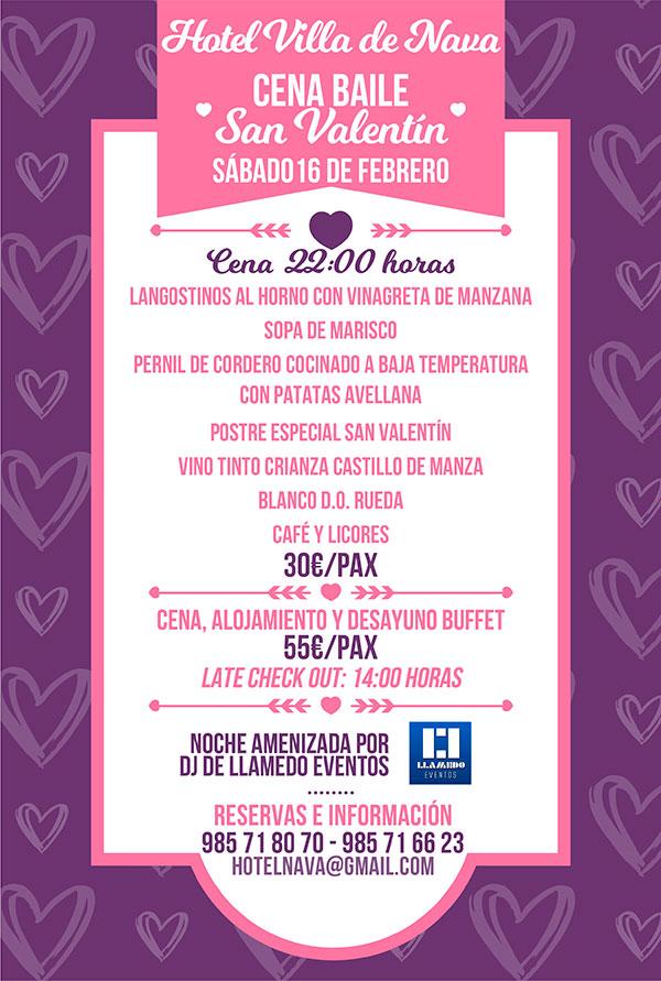 San Valentín en el Hotel Villa de Nava