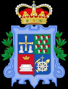 Escudo de San Martín del Rey Aurelio