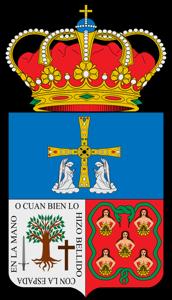 Escudo de Teverga (Asturias)