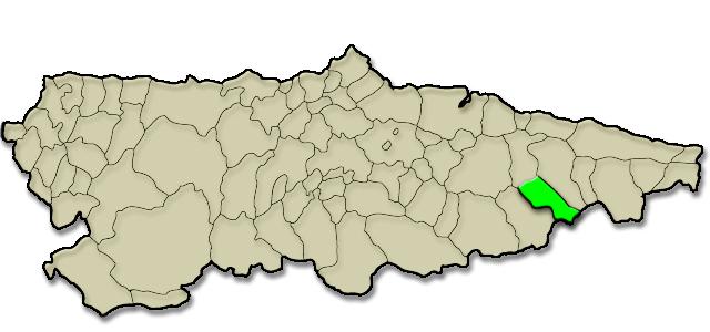 Mapa de situación. Vis