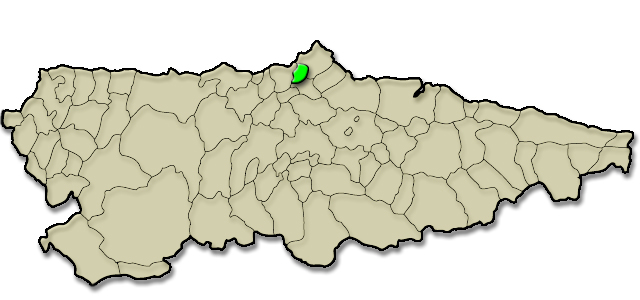 Mapa de situación. Procesión de la Resurrección