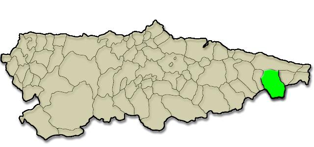 Mapa de situación. Hotel La Casa de Juansabeli