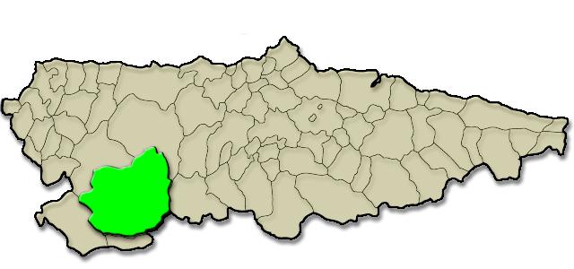 Mapa de situación. Casa de aldea Casa Colasón
