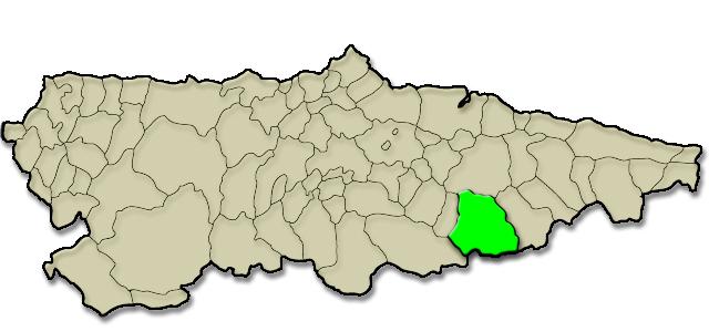 Mapa de situación. Govezanes