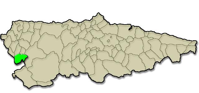 Situación municipio de Grandas de Salime