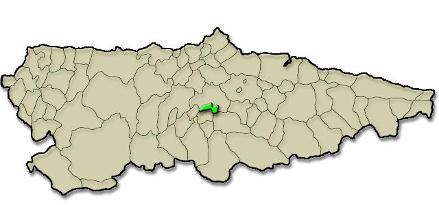 Mapa de situación. Bueño