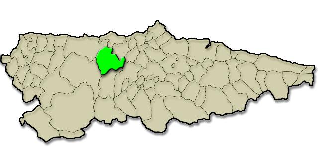 Mapa de situación. Colegiata de Santa María la Mayor