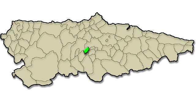 Situación municipio de Santo Adriano